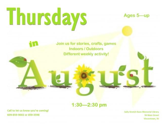 Thursday in August