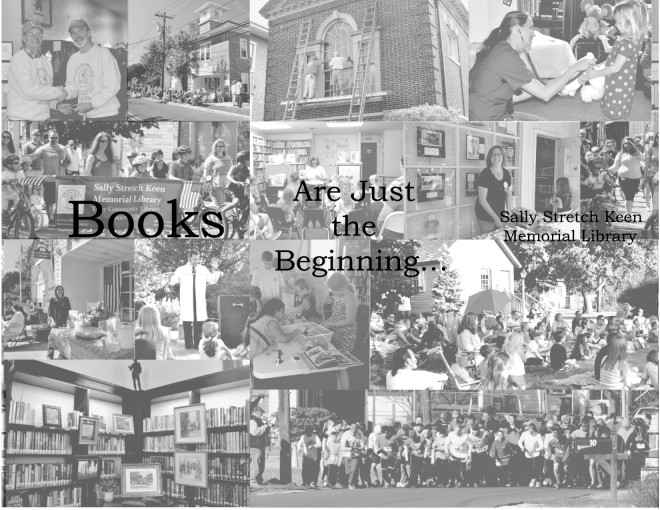 Books are just the beginning