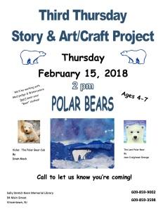 Third Thursday Polar Bears (February)