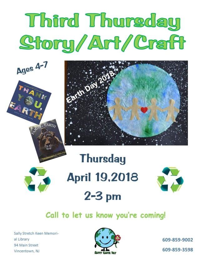 Third Thursday Earth Day April