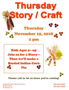 Thursday story-craft November 2018 copy